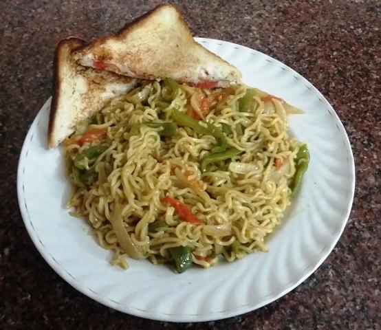 Vegetable Maggi Noodles