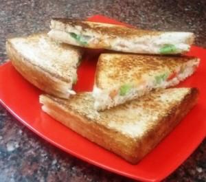 Vegetable Mayo Sandwich