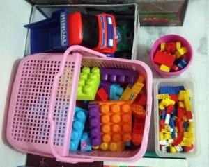 Organise toys