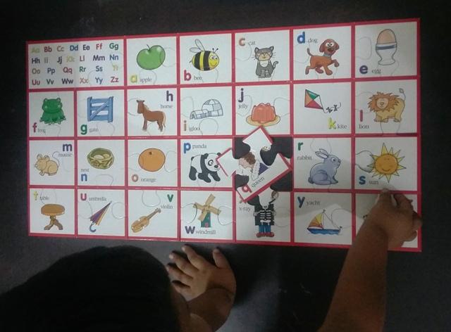 alphabet recognition