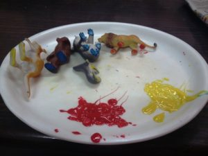 Painting with Toys