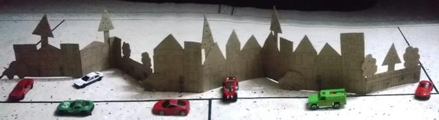 Foldable Mini City