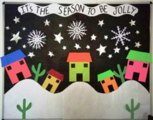 winter class decorations