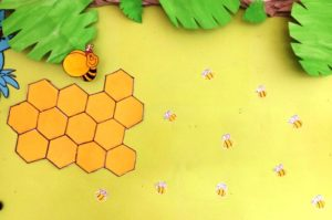 Hexagon Bee hive