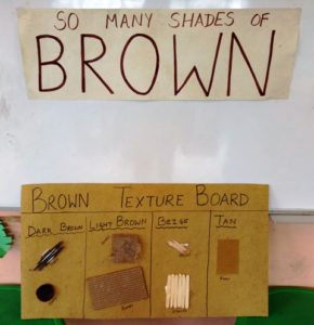 brown color day